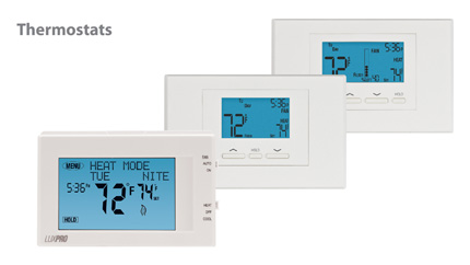 LuxPro Thermostats
