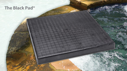 The Black Pad® Plastic Equipment Pad