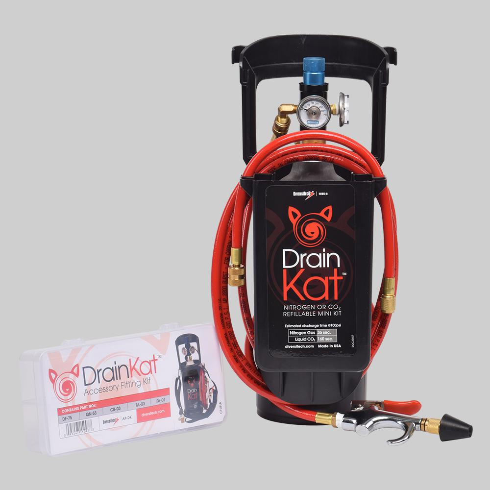Master Cylinder Price >> Drain Kat™ Mini Kit for Nitrogen or CO2 | Diversitech