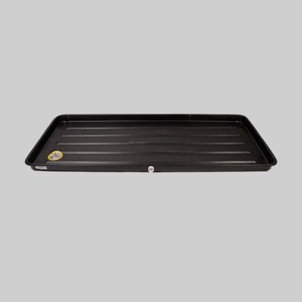 Bottom DiversiTech 6-2763L A//C Secondary Condensate Drain Pan Outlet Long Side