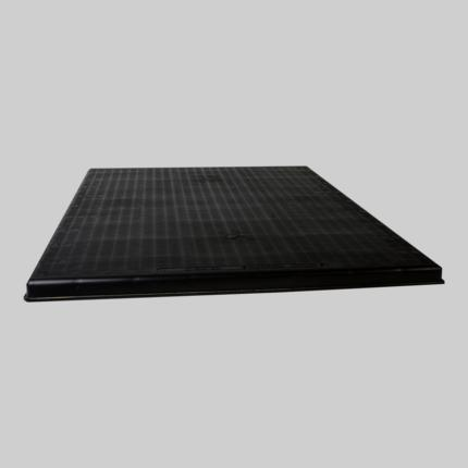 The Black Pad® Black Plastic Equipment Pads