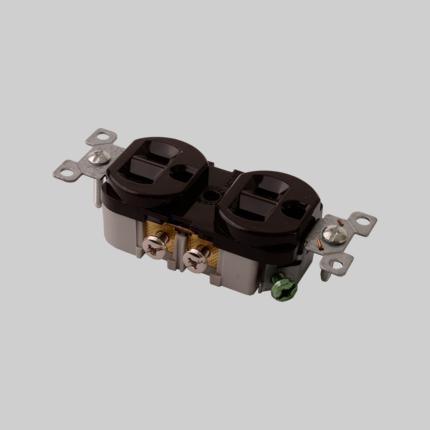 Diversitech ED877-I Duplex Receptacle 20A-125V 2,