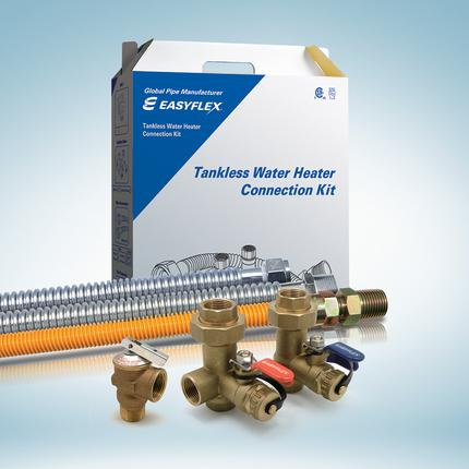 Tankless Water Heater Connection Kit